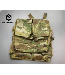 EvolutionGear Zip on back panel