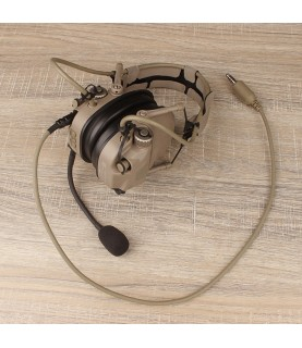 FCS AMP headsets TAN