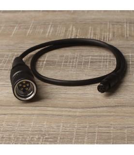 DUAL com connector cable BK