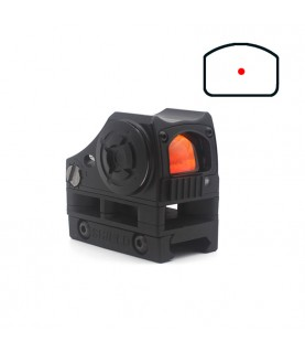 CQB light sensor red dot sight