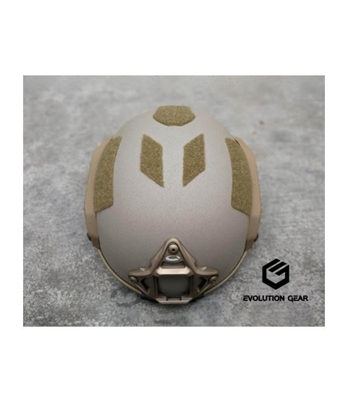 EVG maritime helmet with O type logo rail C