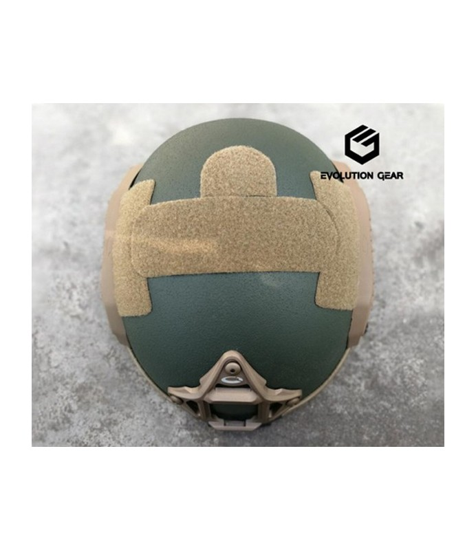 EVG maritime helmet with O type logo rail D Marsoc