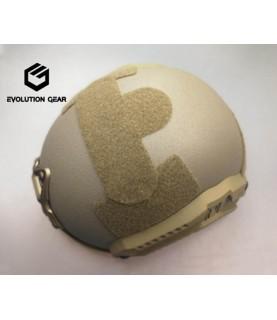 Evolutiongear maritime helmet w exfil extention&liner system