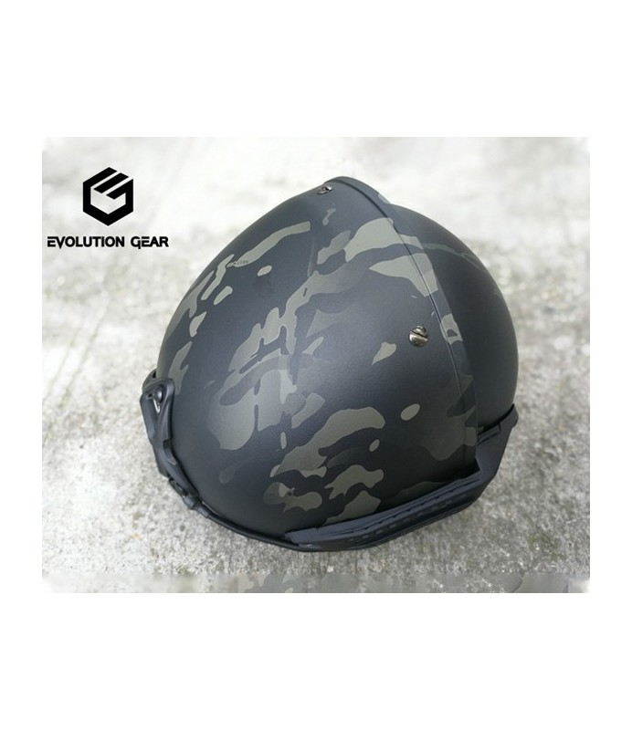 EvolutiongGear AF helmet Multicam Black