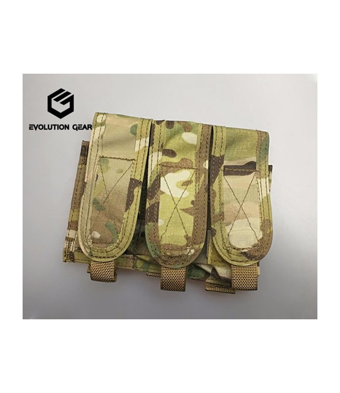 Evolution Gear Paraclete style triple flashbang pouch