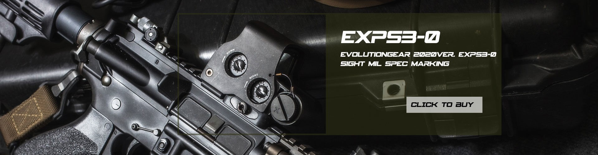 EvolutionGear 2020Ver. EXPS3-0 Sight Mil Spec Marking